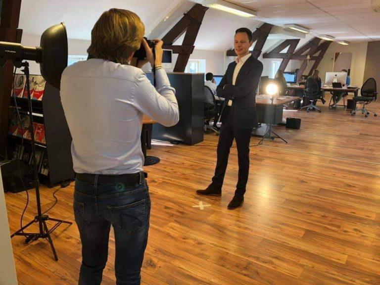 Fotoshoot multiscope en shareforce