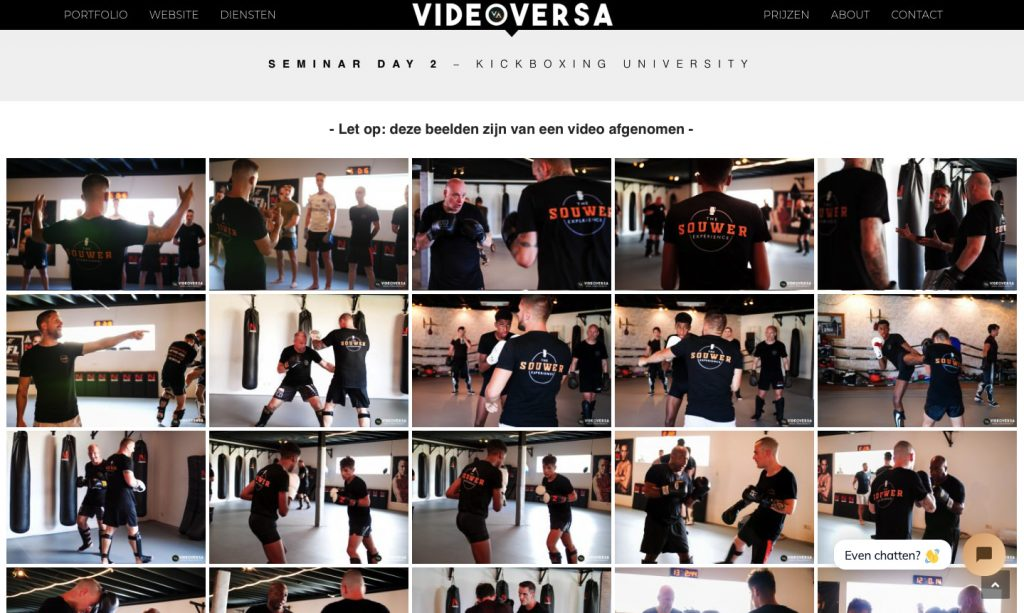 andy souwer kickboxing university online